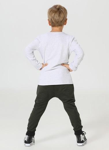Lupiakids Mr Fes Harem Pantolon+T-Shirt Takım Renkli
